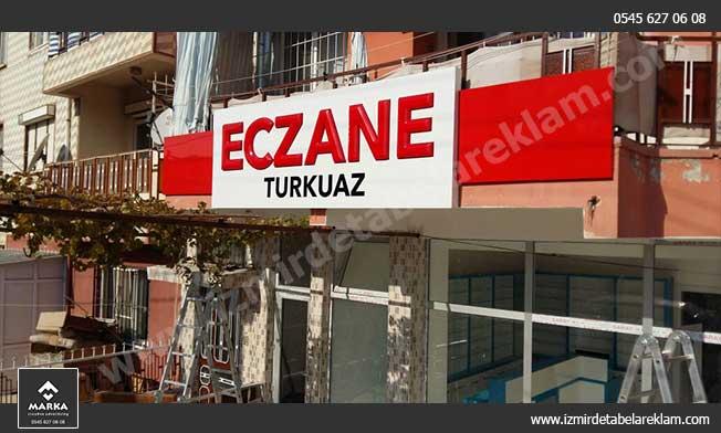 İzmir Tabela, Eczane Tabela, Kabartma Harf