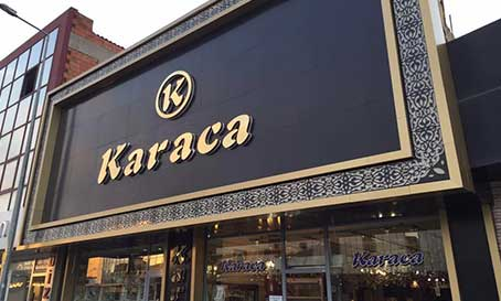 İzmir Krom Harf Tablea