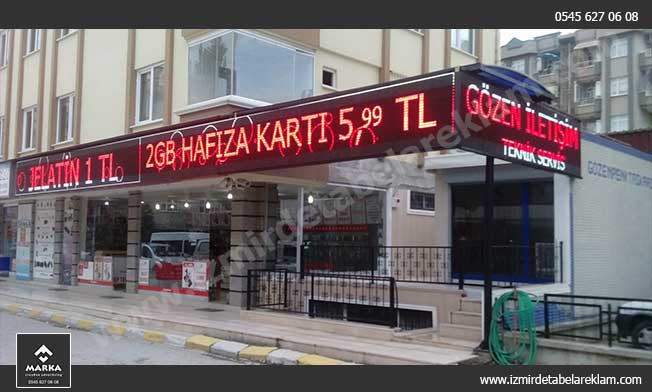 İzmir Kemalpaşa Tabela Üretimi