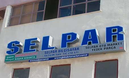 İzmir tabela, Pleksi kutu harf