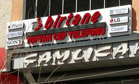 Pleksiglass Kutu Harf İzmir
