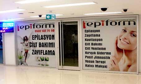 İzmir Tabela, Cam Kaplama, Folyo Kaplama