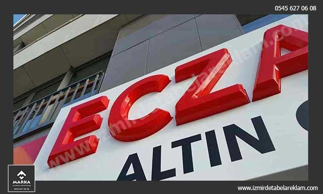 Eczane Tabelası, İzmir Tabela