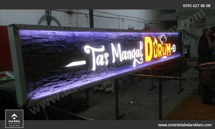 İzmir Kutu Harf Tabela