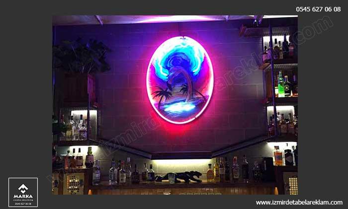 İzmir Tabela, Işıklı Tabela