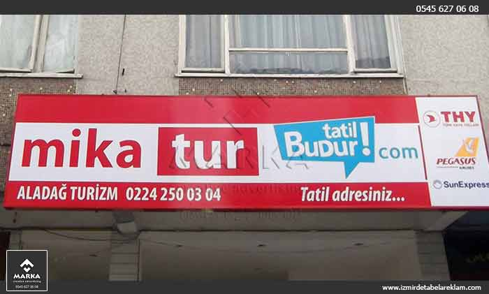 Pleksi Tabela İzmir