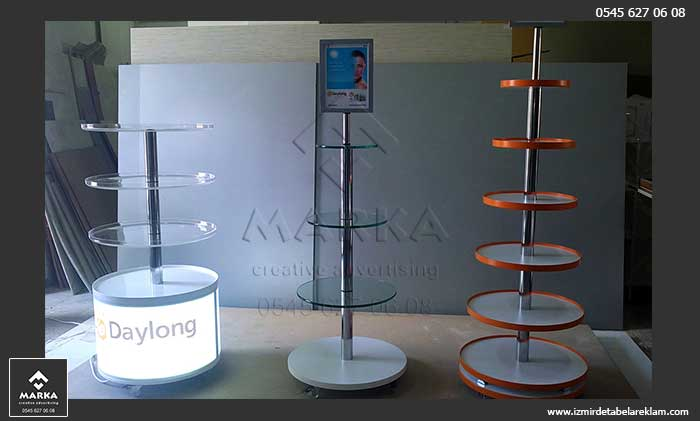 ürün tanıtım standı, teşhir standı, metal stand, fuar standı, ahşap stand