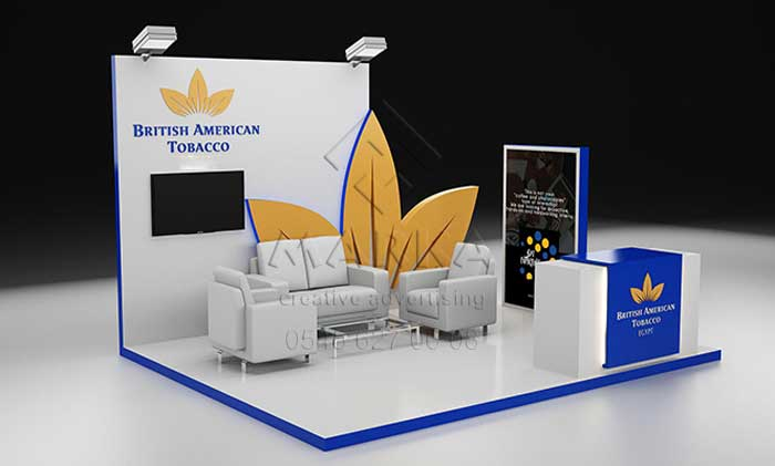 fuar stand modelleri, izmir fuar standı, exhibition stand designs, fair stands, stand design ideas