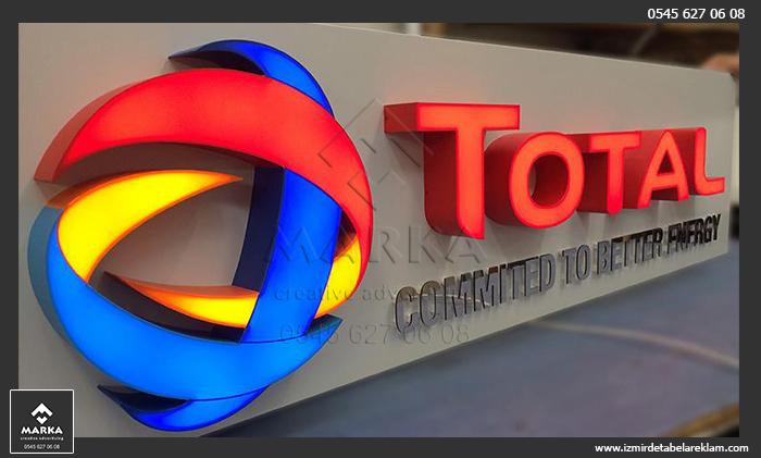 İzmir Tabela, Kutu Harf, Led Işıklı Reklam Tabelası